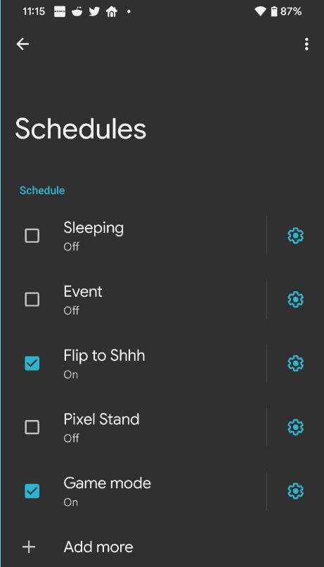 Android 12-systeem heeft zijn eigen spelmodus